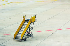 Passenger boarding stairs Stock Photography
