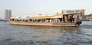 Passenger boat on Chao Phraya River, Bangkok Stock Image