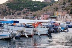 Passenger boat Stock Photography