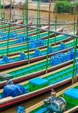 Passenger boat at Inle Lake, Myanmar Royalty Free Stock Photography