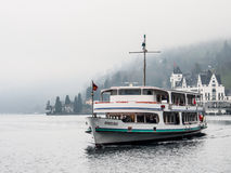 Passenger boat in Lake Lucerne Stock Photography