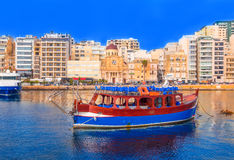 Passenger boat in Malta Royalty Free Stock Image