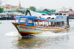 Passenger boat running. Stock Photography