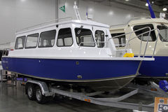 Passenger Boat Samara 820 T in the exhibition Crocus Expo in Mos Royalty Free Stock Photos