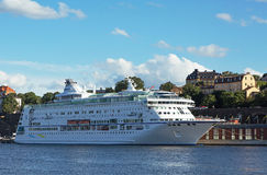 Passenger boat in the Stockholm Royalty Free Stock Photography