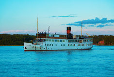 Passenger boat Stockholm Stock Photos
