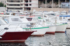 Passenger boats Royalty Free Stock Images