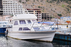 Passenger boats Stock Photo