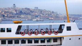Passenger boats in Istanbul Turkey (Editorial) Royalty Free Stock Images