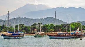 Passenger boats Royalty Free Stock Photos