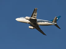 Passenger Boeing 737-505, Belavia Royalty Free Stock Photo