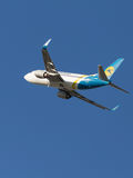 Passenger Boeing A319 Stock Photo