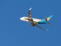 Passenger Boeing A319 Ukraine International Airlines Stock Photo