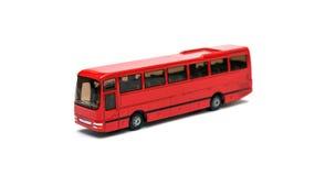 Passenger bus model stock photo