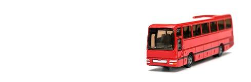 Passenger bus model stock photography