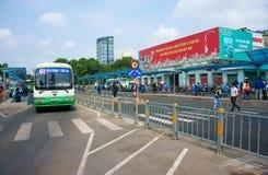 Passenger bus station Royalty Free Stock Image