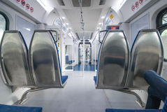 Passenger car. This is a Passenger car of KTM komuter. a general public transport in malaysia. every people in malaysia have to use this train to kuala lumpur of royalty free stock image