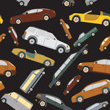 Passenger car background, seamless Stock Images