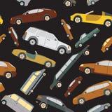 Passenger car background, seamless Stock Images