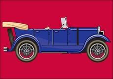 PASSENGER CAR. Color  image of four-door passenger car Vector Illustration