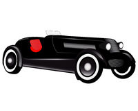 Passenger car Stock Image