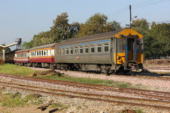 Passenger Car Train No52 Stock Images