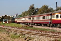 Passenger Car Train No52 Royalty Free Stock Photos