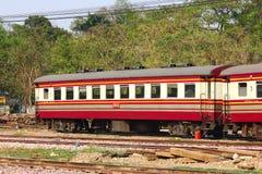 Passenger Car For Train no.52. CHIANGMAI , THAILAND- MARCH 5 2014: Passenger Car For Train no.52 to Bangkok from Chiangmai. Photo at Chiangmai railway station Stock Photos