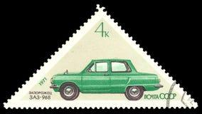 Passenger car Zaporozhets stock photo