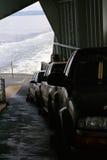 Passenger cars ride the Washington state ferry Royalty Free Stock Photos