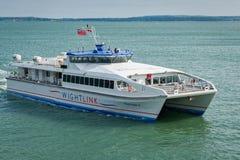 Passenger Catamaran Ferry Stock Photos
