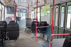 Passenger compartment Stock Image