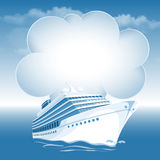Passenger cruise liner Stock Photo