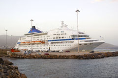 Passenger cruise ship royalty free stock photos