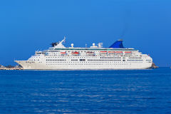 Passenger cruise ship Royalty Free Stock Photos