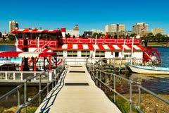 Passenger Dock of Harrisburg Riverboat Stock Images
