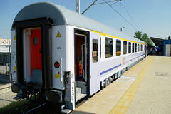 Passenger express train Stock Image