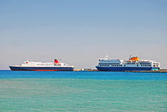 Passenger ferries Stock Images