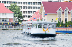 Passenger ferry in Bangkok Stock Photography