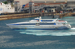 Passenger ferry boat Royalty Free Stock Images