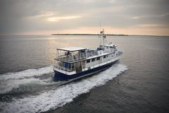 Passenger ferry boat. Royalty Free Stock Image