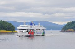 Passenger ferry. Royalty Free Stock Photo