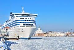 Passenger ferry in Helsinki Stock Images