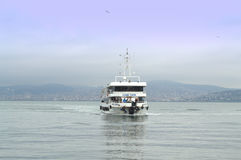 Passenger Ferry Istanbul Stock Image