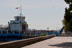Passenger ferry Kintai Royalty Free Stock Image