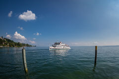 Passenger ferry on Lake Constance Stock Image