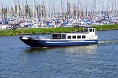 Passenger ferry `Marken` of Zuiderzeemuseum Enkhuizen royalty free stock images