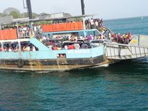 Passenger ferry mombasa at the East African coast Stock Photography