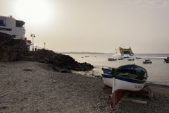 Passenger Ferry Playa Blanca - Lanzarote Canary Islands Stock Image