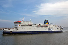 Passenger ferry ship Royalty Free Stock Photo